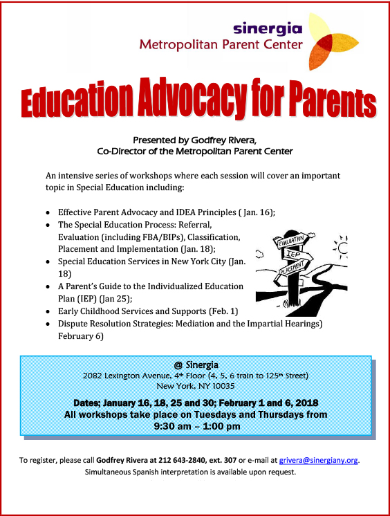 Education Advocacy for Parents
