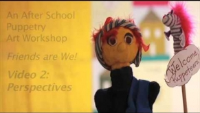 An After School Puppetry Art Workshop
